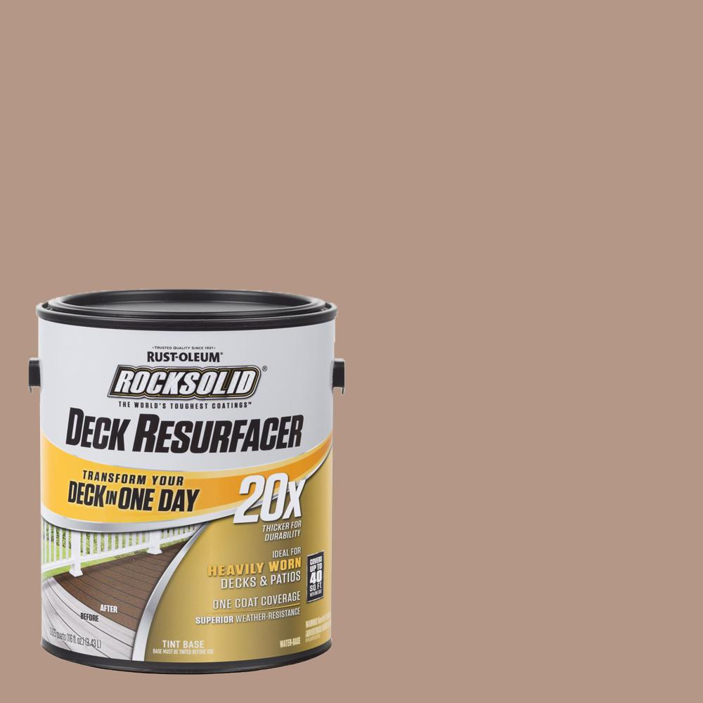1 gal. Clay Exterior 20X Deck Resurfacer
