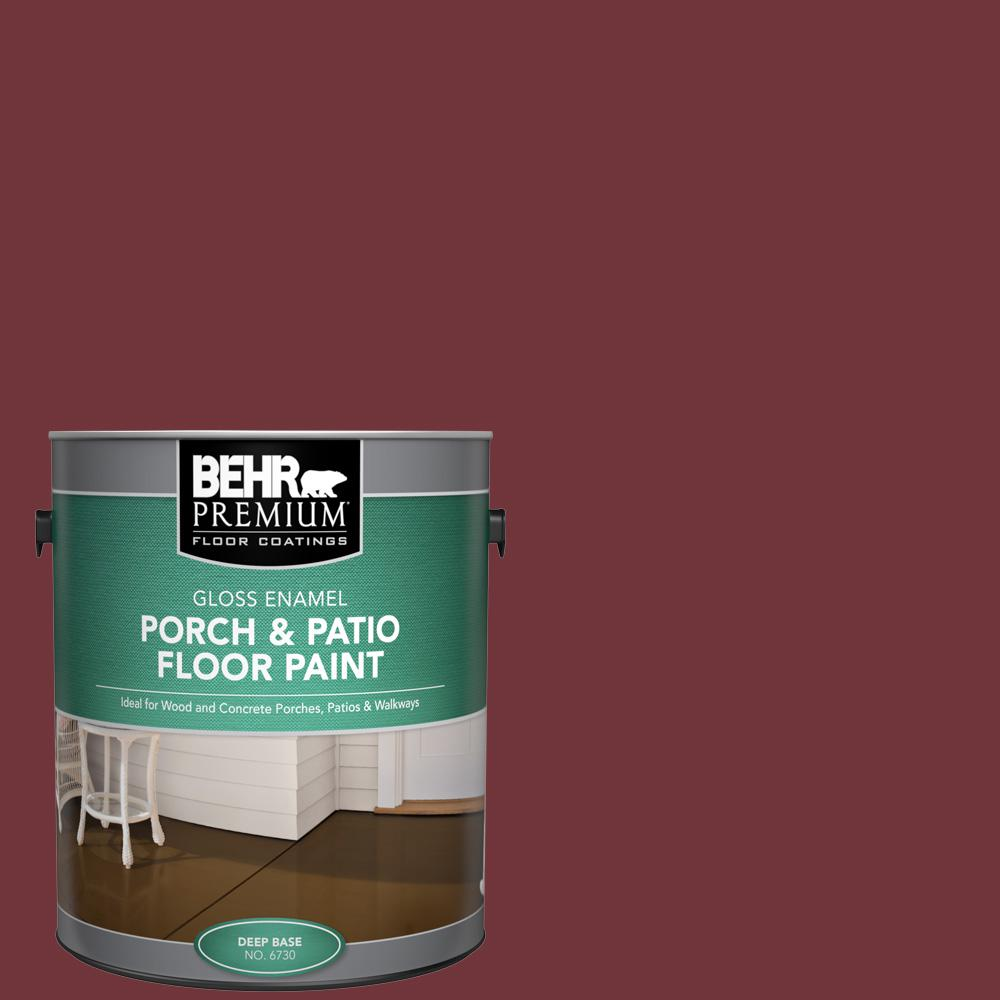 1 gal. #S-H-150 Chianti Gloss Enamel Interior/Exterior Porch and Patio Floor Paint