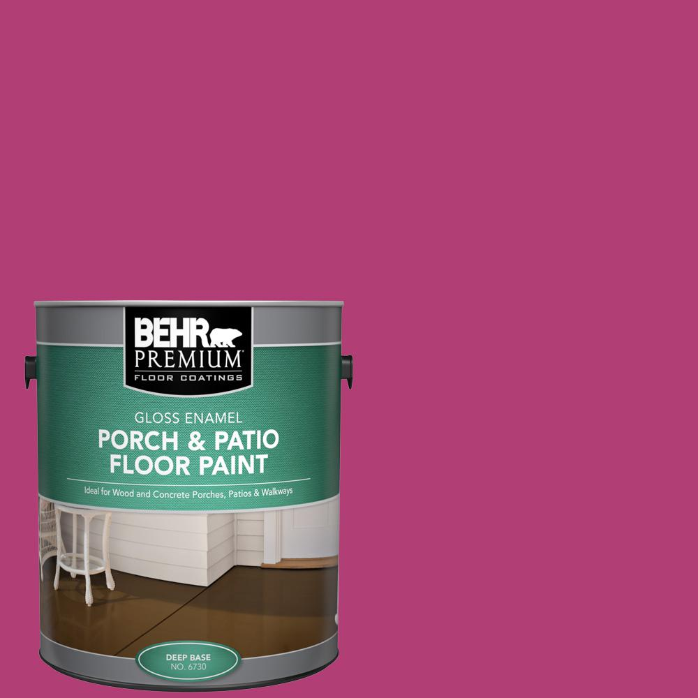 1 gal. #P120-6 Diva Glam Gloss Enamel Interior/Exterior Porch and Patio Floor Paint