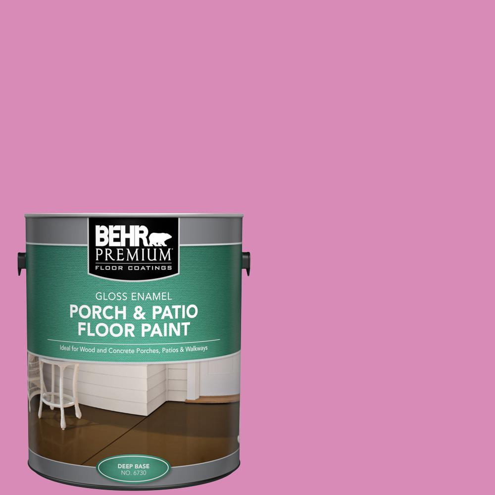 1 gal. #P120-3 High Maintenance Gloss Enamel Interior/Exterior Porch and Patio Floor Paint